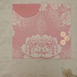 Domohorn Wrinkle日系和風粉嫩花花利是封 (一套六個)