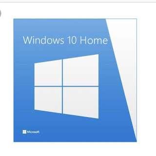 Windows 10 Home License Key