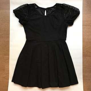 Heather black dress size m