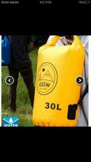 Bag kalis air 30Liter(waterproof) with free postage poslaju