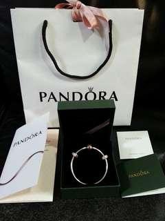全新Pandora手鐲17cm