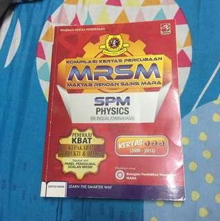 MRSM SPM Physics