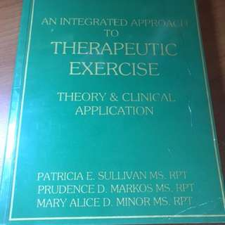 An Integrated Approach to Therapeutic Exercises