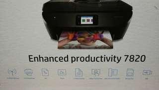 相片及文件多合一打印機  HP ENVY Photo 7820 多合一打印機(K7S09D)