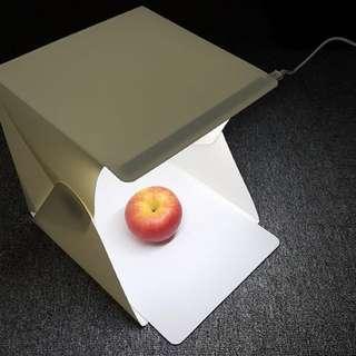 Portable mini LED photography lightbox