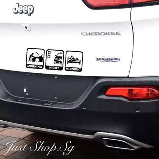 Racer Life Car Decal / Sticker
