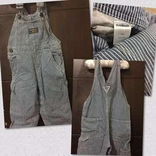 Osh kosh overall jeans