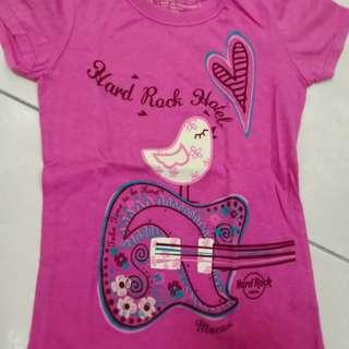 Hard Rock Hotel Macau girl shirt