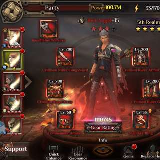 100 million CP Server 2 FINAL FANTASY AWAKENING
