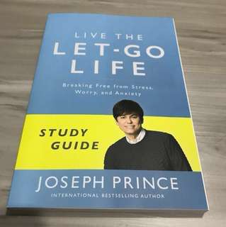 Live the Let go Life Study Guide Joseph Prince NCC New Creation Church 新造教会 Christmas