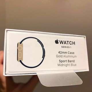Apple Watch S1 42mm Gold Alumium/Sport Band