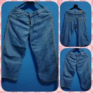 Celana Jeans Semi Kulot Style - Kode CL 025