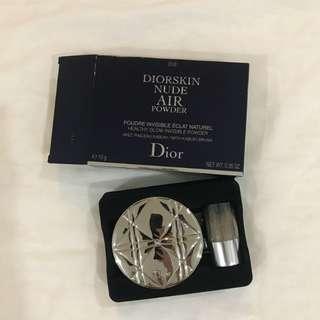 Dior nude air powder 010 ivory