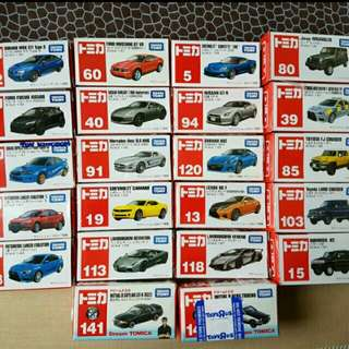Repriced: Tomica Car Collection (Diecast)