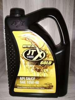 Motor Oil JTX 1000 Gold (4 Litres)