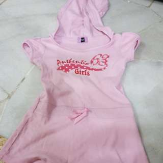 F&F pink dress 3yo