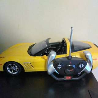 RC Corvette Toy