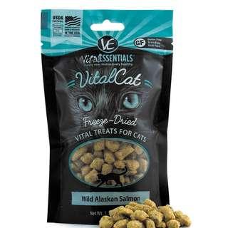 Vital Essentials Cat Freeze Dried Wild Alaskan Salmon 31.2g