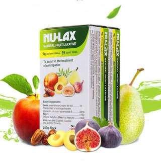 (清貨促銷特價) Nu-Lax 澳洲樂康膏  500g 天然果蔬排毒減肥通便 養顏必備 NATURAL FRUIT LAXATIVE 500g