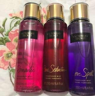 NEW Victoria's Secret Fragrance Mists Bundle