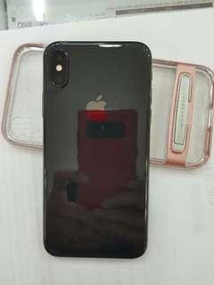 아이폰X256GB 블랙 풀박스 거의새것 2주안된폰 정상개통