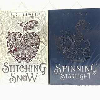 Stitching Snow and Spinning Starlight by R.C. Lewis, Set HB