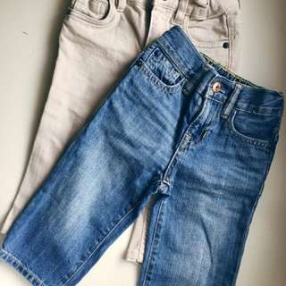 Baby Gap & Cotton On Kids Jeans