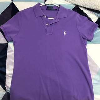 Polo Ralph Lauren Tshirt - Size L - Purple w/white logo