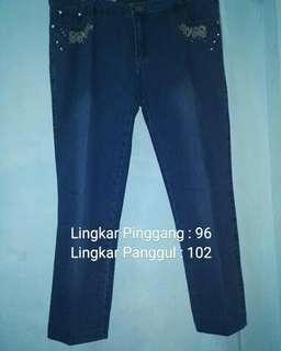 Celana Jeans Wanita Semi Pencil