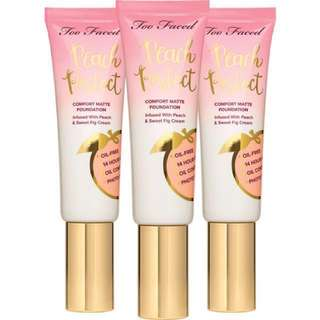 [PO] Too Faced Peach Perfect Foundation