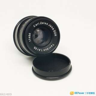 Carl Zeiss Jena DDR Tevidon 25mm F/1.4
