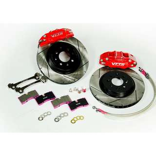 Vttr mini 6pot Brake Caliper and Disc Rotor with SSBH