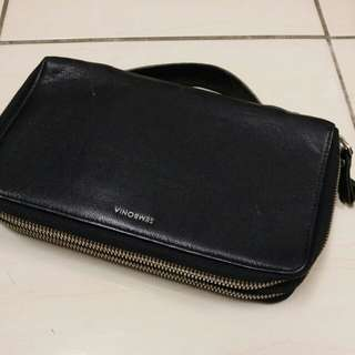 Sembonia genuine leather clutch