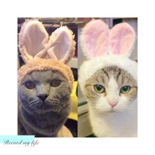 扮野帽 (白色兔仔耳/啡色兔仔耳/紫色羊仔耳/橙色貓耳仔)