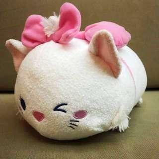 "[Ltd Stock] Disney Original Tsum Winking Marie Cat Expression Medium 11"" Plush"