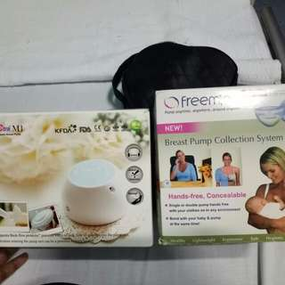 Spectra M1 breastpump and freemie