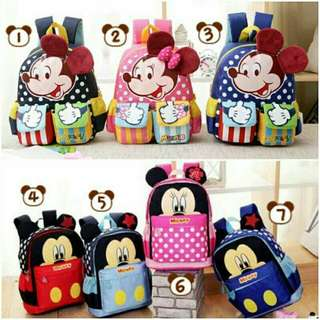 Mickey mouse & Minnie mouse Bag