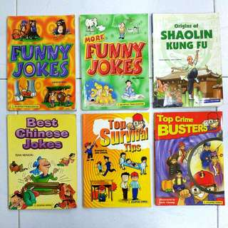 Assorted Asiapac Books (Set of 10)