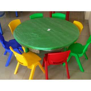 Children Round Table Kindergarten/ Tadika/ Taska