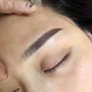 Korea eyebrow embroidery 6D