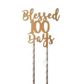 Matt Gold Customized Cake topper 100days Party Birthday Baby Shower