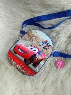 Kids sling bag pikachu doraemon mickey superman
