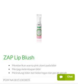 Zap lip blush