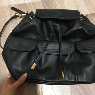 Charles & Keith Bucket bag and Back Pack