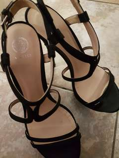 Authentic italy Versace heels size 6