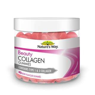 [In Stock] Nature's Way Beauty Collagen 40 Gummies