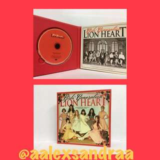 少女時代  Lion Heart album