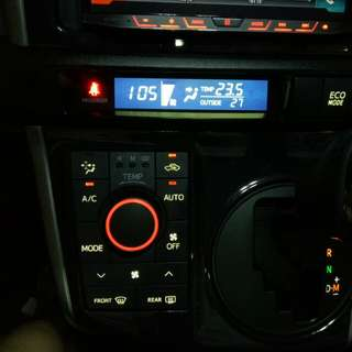 Toyota Wish 2009-2018 inverted LCD