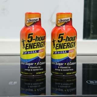 (2 for $20) 5-Hour Energy Drink 57ml