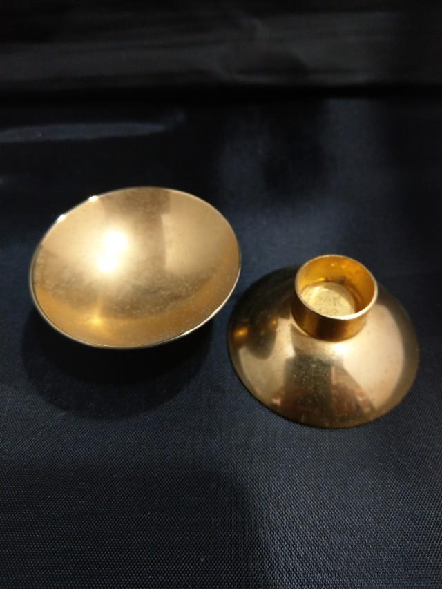 兩個24K包金金杯